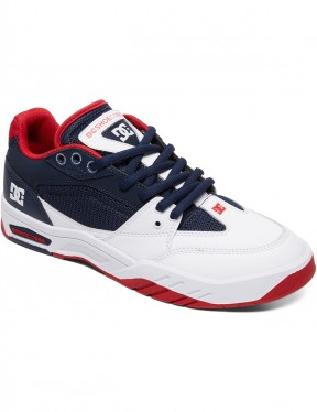 DC Maswell Trainers in Navy White