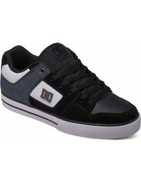 DC Pure SE Trainers in Black/White
