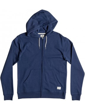 DC Rebel Zipped Hoody in Summer Blues
