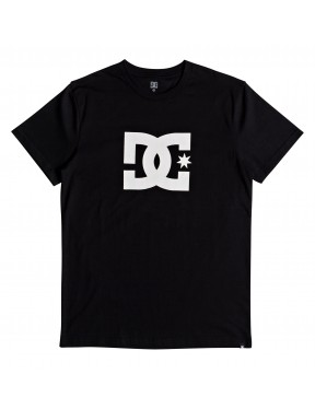 DC Star Short Sleeve T-Shirt in Black