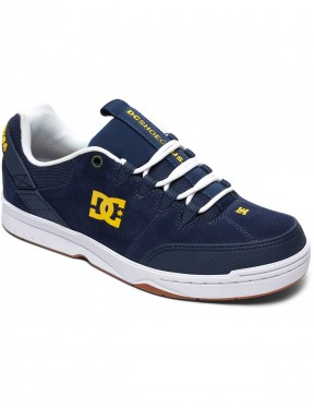 DC Syntax Trainers in Navy/White