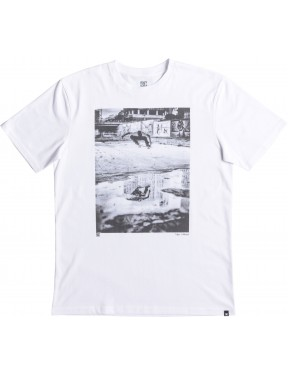 DC Tiago Switch Ollie Short Sleeve T-Shirt in Snow White
