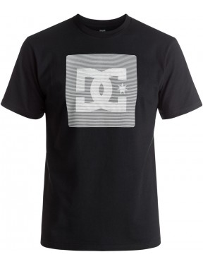 DC Variation Short Sleeve T-Shirt in Black