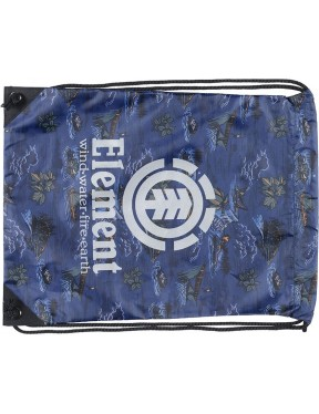 Element Buddy Cinch Pouch in River Rats Blue