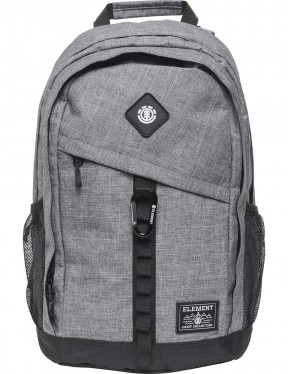Element Cypress Backpack in Grey Grid Htr