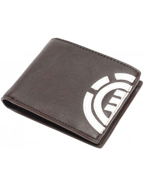 Element Daily Faux Leather Wallet in Bear Brown