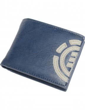 Element Daily Faux Leather Wallet in Eclipse Navy