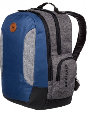 Quiksilver Schoolie II Backpack in Medieval Blue Heather