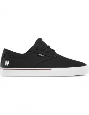 Etnies Jameson Vulc Trainers in Black/White