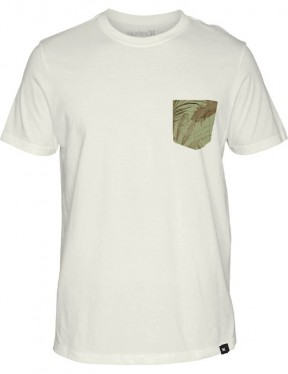 Hurley Jjf Pilot Maps Short Sleeve T-Shirt in Sail