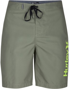Hurley One & Only 2.0 Mid Length Boardshorts in Palm Green