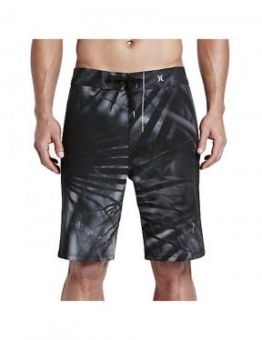 Hurley Phantom JJF II Mid Length Board Shorts in Black