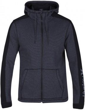 Hurley Surface Full Zip Fleece in Black