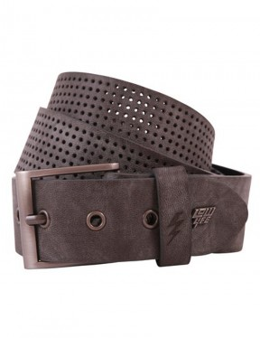 Lowlife Clyde Leather Belt in Slate