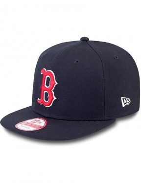 New Era MLB 9Fifty Boston Red Sox Cap in Navy/Red