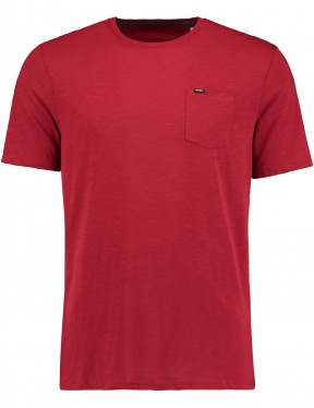 ONeill Jacks Base Short Sleeve T-Shirt in Sun Dried Tomato