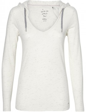ONeill Marly Pullover Hoody in White Melee