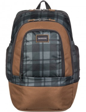 Quiksilver 1969 Special Backpack in Plaid Tarmac