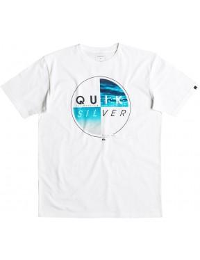 Quiksilver Blazed Short Sleeve T-Shirt in White