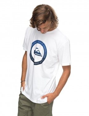 Quiksilver Classic Kahu Short Sleeve T-Shirt in White