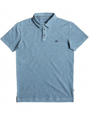 Quiksilver Everyday Sun Cruise Polo Shirt in Orage Blue
