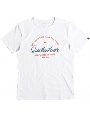 Quiksilver Hero Bay Short Sleeve T-Shirt in White