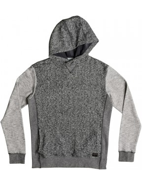 Quiksilver Icy Giants Pullover Hoody in Light Grey Heather