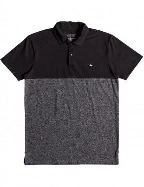 Quiksilver Kuju Polo Polo Shirt in Dark Grey Heather