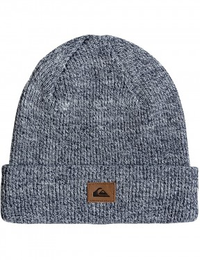 Quiksilver Performed Beanie in Dark Denim Heather