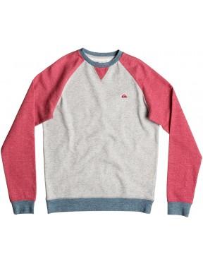 Quiksilver Rio Negro Crew Sweatshirt in Cardinal