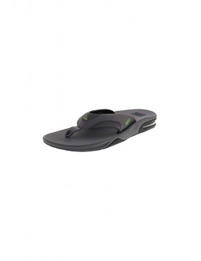 Reef Fanning Sandals in Grey/Black/Glow