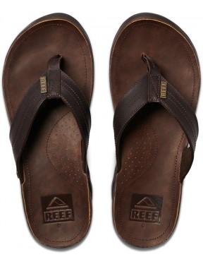 Reef J-Bay III Flip Flops in Dark Brown/Dark Brown
