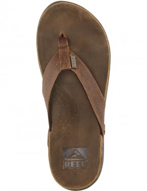 Reef J-Bay III Leather Sandals in Camel