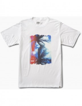 Reef Lense Tee Short Sleeve T-Shirt in White
