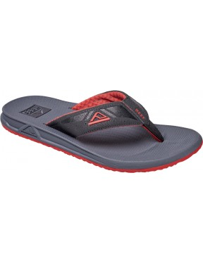 Reef Phantoms Sport Sandals in Charcoal/Red