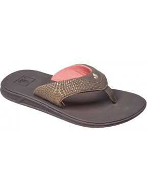 Reef Rover Sport Sandals in Brown/Coral
