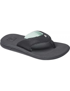 Reef Rover Sport Sandals in Black/Mint