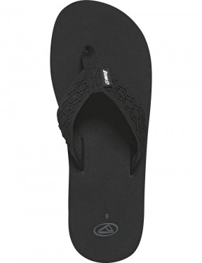 Reef Smoothy Flip Flops in Black