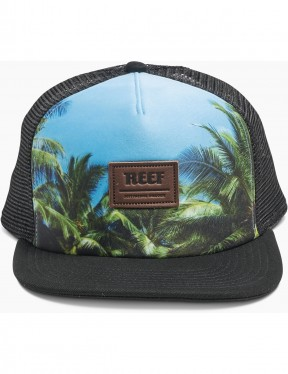 Reef Tour Cap in Black