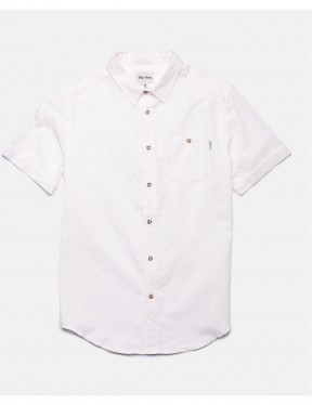 Rhythm Apartment Short Sleeve Shirt in White