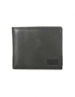 Rip Curl Clean RFID Leather Wallet in Black