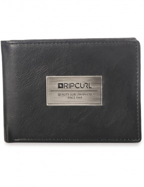 Rip Curl Heavy Metal PU All Day Faux Leather Wallet in Black
