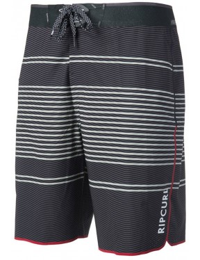 83dc3b8745 Rip Curl Mirage Transmit Ult 20 inch Mid Length Boardshorts in Black