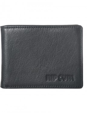 Rip Curl Original Leather Wallet in Black
