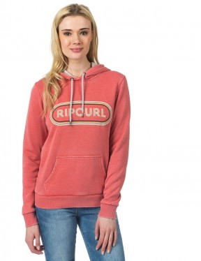 Rip Curl Pixley Fleece Pullover Hoody in Faded Rose