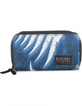 Rip Curl Westwind Faux Leather Wallet in Blue