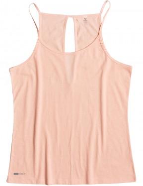 Roxy Albalee Tank Sleeveless Top in Peach Pearl