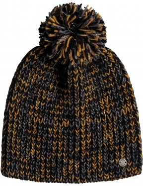 Roxy Romantic RDV Bobble Hat in Anthracite