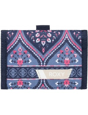 Roxy Small Beach Polyester Wallet in China Blue New Maiden