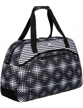 Roxy Too Far Holdall in Anthracite Opticity